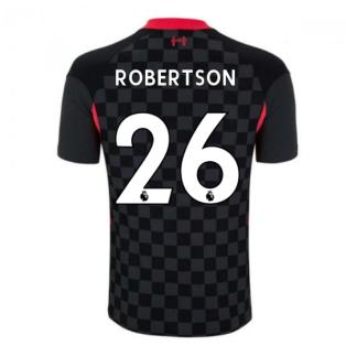 2020-2021 Liverpool Vapor Third Shirt (ROBERTSON 26)