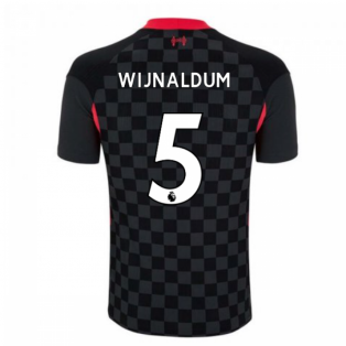 2020-2021 Liverpool Vapor Third Shirt (WIJNALDUM 5)
