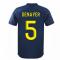 2020-2021 Lyon Third Shirt (DENAYER 5)