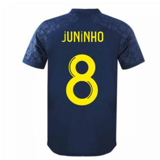 2020-2021 Lyon Third Shirt (JUNINHO 8)