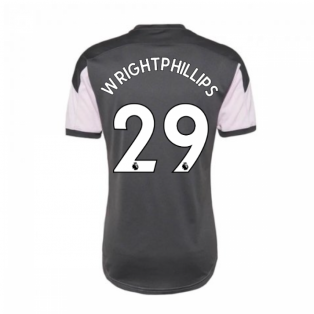 2020-2021 Man City Training Shirt (Lilac Snow) - Kids (WRIGHT-PHILLIPS 29)