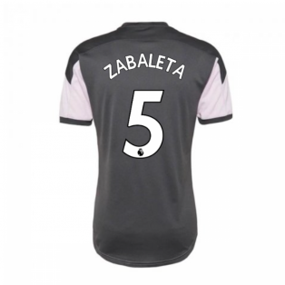 2020-2021 Man City Training Shirt (Lilac Snow) - Kids (ZABALETA 5)