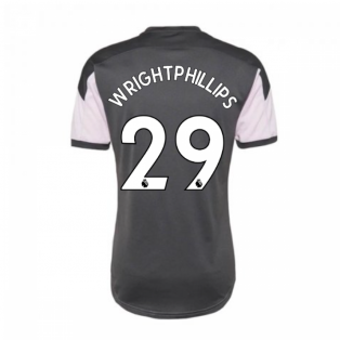 2020-2021 Man City Training Shirt (Lilac Snow) (WRIGHT-PHILLIPS 29)