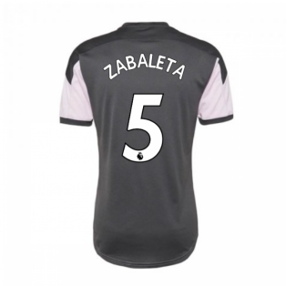 2020-2021 Man City Training Shirt (Lilac Snow) (ZABALETA 5)