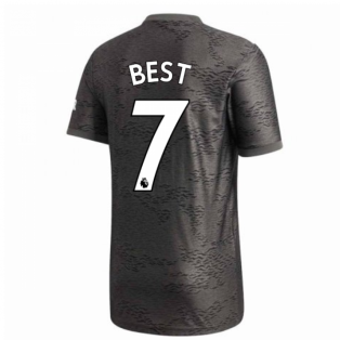 2020-2021 Man Utd Adidas Away Football Shirt (BEST 7)