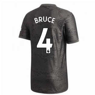 2020-2021 Man Utd Adidas Away Football Shirt (BRUCE 4)