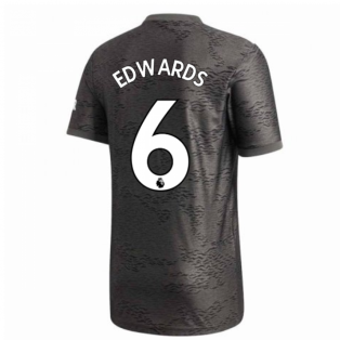 2020-2021 Man Utd Adidas Away Football Shirt (EDWARDS 6)