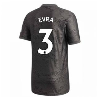 2020-2021 Man Utd Adidas Away Football Shirt (EVRA 3)