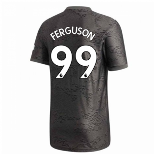 2020-2021 Man Utd Adidas Away Football Shirt (FERGUSON 99)