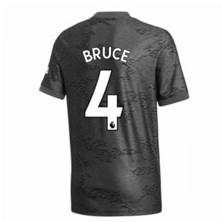 2020-2021 Man Utd Adidas Away Football Shirt (Kids) (BRUCE 4)