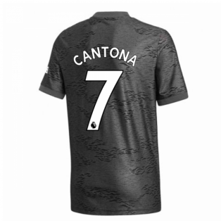 2020-2021 Man Utd Adidas Away Football Shirt (Kids) (CANTONA 7)