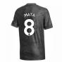 2020-2021 Man Utd Adidas Away Football Shirt (Kids) (MATA 8)