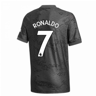2020-2021 Man Utd Adidas Away Football Shirt (Kids) (RONALDO 7)