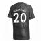 2020-2021 Man Utd Adidas Away Football Shirt (Kids) (SOLSKJAER 20)