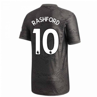 2020-2021 Man Utd Adidas Away Football Shirt (RASHFORD 10)