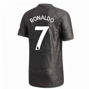 2020-2021 Man Utd Adidas Away Football Shirt (RONALDO 7)
