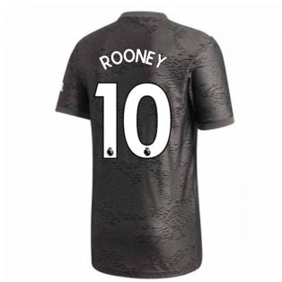 2020-2021 Man Utd Adidas Away Football Shirt (ROONEY 10)