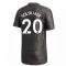 2020-2021 Man Utd Adidas Away Football Shirt (SOLSKJAER 20)
