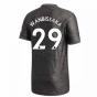 2020-2021 Man Utd Adidas Away Football Shirt (WAN-BISSAKA 29)