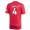 2020-2021 Man Utd Adidas Home Football Shirt (BRUCE 4)