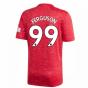 2020-2021 Man Utd Adidas Home Football Shirt (FERGUSON 99)