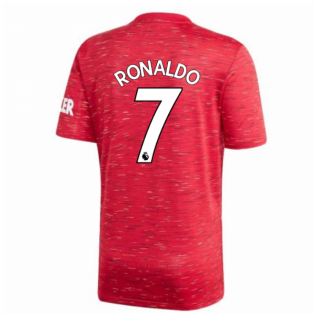 2020-2021 Man Utd Adidas Home Football Shirt (RONALDO 7)