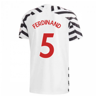 2020-2021 Man Utd Adidas Third Football Shirt (FERDINAND 5)