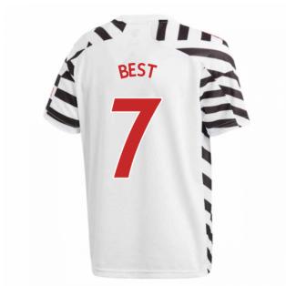2020-2021 Man Utd Adidas Third Football Shirt (Kids) (BEST 7)