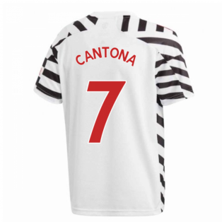 2020-2021 Man Utd Adidas Third Football Shirt (Kids) (CANTONA 7)