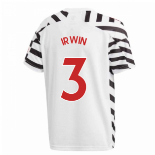 2020-2021 Man Utd Adidas Third Football Shirt (Kids) (IRWIN 3)