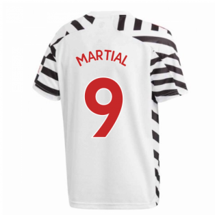 2020-2021 Man Utd Adidas Third Football Shirt (Kids) (MARTIAL 9)