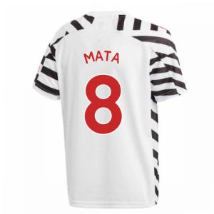 2020-2021 Man Utd Adidas Third Football Shirt (Kids) (MATA 8)