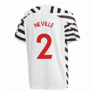 2020-2021 Man Utd Adidas Third Football Shirt (Kids) (NEVILLE 2)