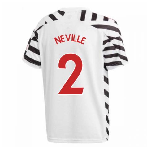 2020-2021 Man Utd Adidas Third Football Shirt (Kids) (NEVILLE 2)