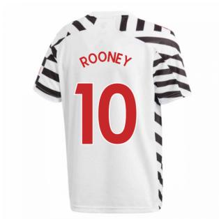 2020-2021 Man Utd Adidas Third Football Shirt (Kids) (ROONEY 10)