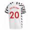 2020-2021 Man Utd Adidas Third Football Shirt (Kids) (SOLSKJAER 20)