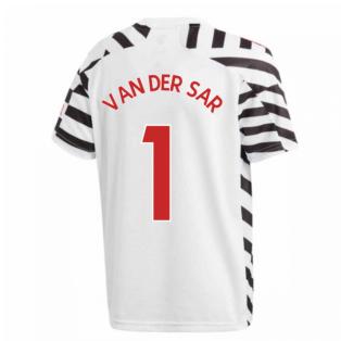 2020-2021 Man Utd Adidas Third Football Shirt (Kids) (VAN DER SAR 1)