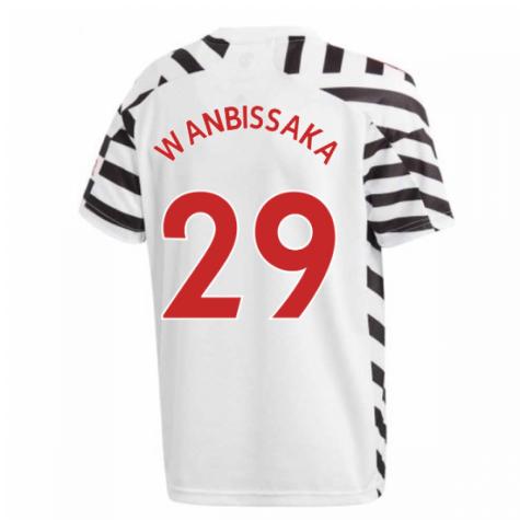 2020-2021 Man Utd Adidas Third Football Shirt (Kids) (WAN-BISSAKA 29)