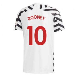 2020-2021 Man Utd Adidas Third Football Shirt (ROONEY 10)
