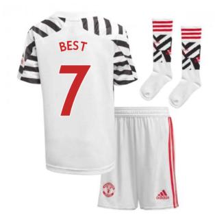 2020-2021 Man Utd Adidas Third Little Boys Mini Kit (BEST 7)