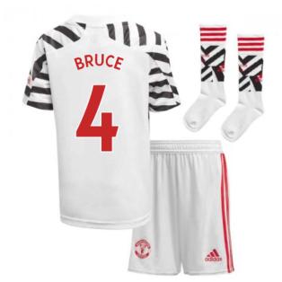 2020-2021 Man Utd Adidas Third Little Boys Mini Kit (BRUCE 4)