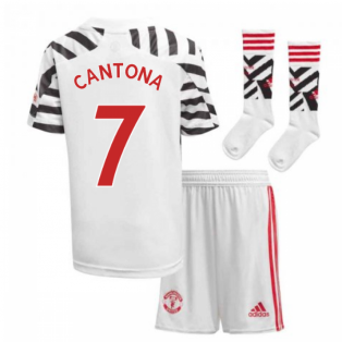 2020-2021 Man Utd Adidas Third Little Boys Mini Kit (CANTONA 7)