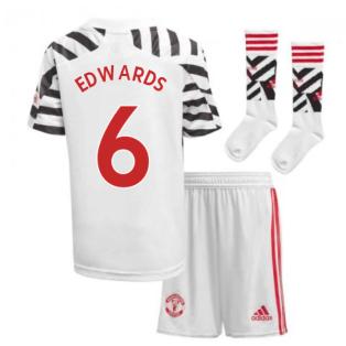 2020-2021 Man Utd Adidas Third Little Boys Mini Kit (EDWARDS 6)
