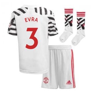 2020-2021 Man Utd Adidas Third Little Boys Mini Kit (EVRA 3)