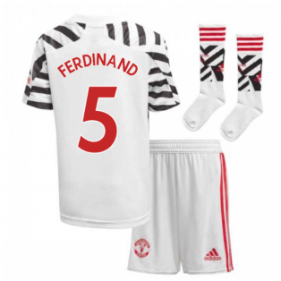 2020-2021 Man Utd Adidas Third Little Boys Mini Kit (FERDINAND 5)