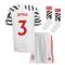 2020-2021 Man Utd Adidas Third Little Boys Mini Kit (IRWIN 3)