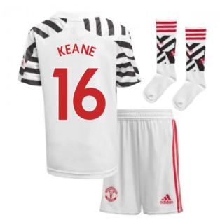 2020-2021 Man Utd Adidas Third Little Boys Mini Kit (KEANE 16)