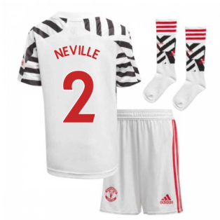 2020-2021 Man Utd Adidas Third Little Boys Mini Kit (NEVILLE 2)