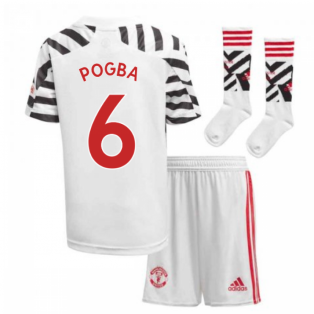 2020-2021 Man Utd Adidas Third Little Boys Mini Kit (POGBA 6)