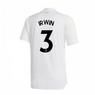 2020-2021 Man Utd Adidas Training Shirt (White) - Kids (IRWIN 3)
